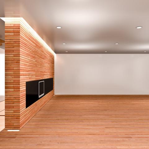 Muro in legno